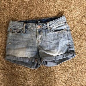 Gap Light Jean Shorts